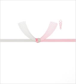 婚礼のし/水引 結び切り(10本)