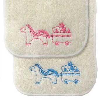 『organic pony』ミニハンカチ